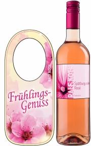 Zeichnung mit Flaschenhänger