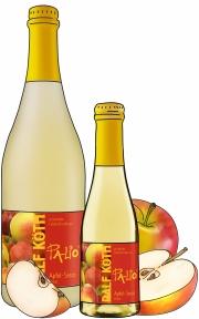 Flaschen mit Frucht