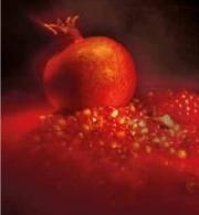 Granatapfel-Secco Blüte